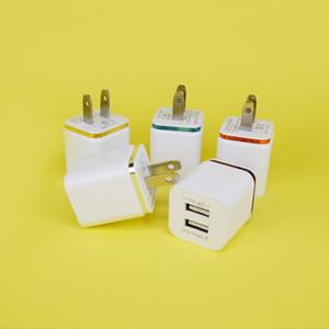 뜨거운 판매 범용 벽 충전기 최신 듀얼 USB 충전기, 3.1A 듀얼 USB 벽 충전기 아이폰 및 삼성 모바일 등