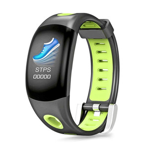 Nouvelle arrivée DM11 Couleur LCD Smart Bluetooth Bracelet Fréquence Cardiaque Fitness Tracker Bracelet IP68Waterproof Podomètre SmartBand Montres 5pcs / lot
