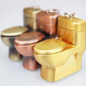 WC en forme de roue de gaz butane cigarette allume-cigare flamme rechargeable cigarette Keychain Briquets sans gaz 3 couleurs fumer outils