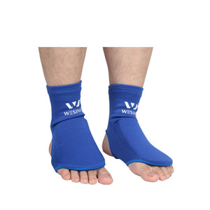 Boxing Sanda Muay Thai Instep Guard Professional Ankle Support Sport Socks Foot Protector Pads 100% Cotton