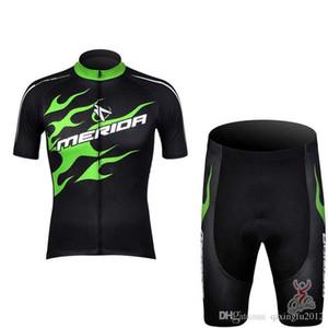 Yeni Merida Bisiklet forması Bisiklet Kısa Gömlek şort C629-76 ciclismo Giyim Bisiklet çabuk kuru Ropa bisiklet france de Mens turu ayarlamak