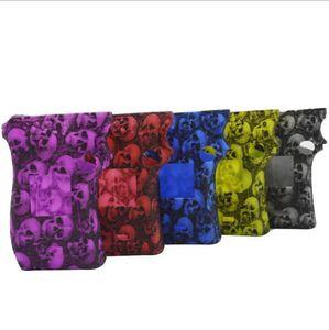 MAG 225W Design della testa del cranio Custodie in silicone Copertura in pelle del cranio in silicone Custodia protettiva in gomma Coperture protettive per Smok MAG 225 Box Mod Kit Vape