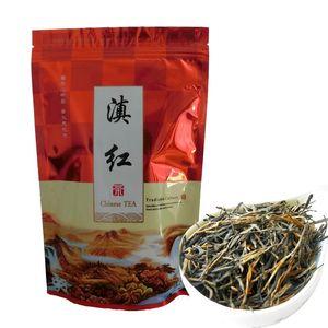 250g Chinese Black tea Chinese Classical 58 series Premium Dian Hong Cooked tea Health Care new ripe tea Healthy Green Food