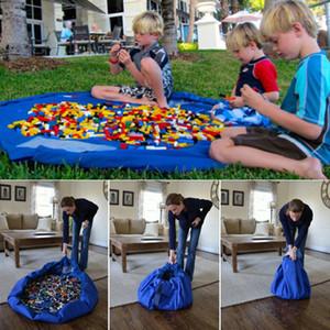 Детские игрушки одеяла роскошная сумка коврики для хранения сумки играть коврики портативный игрушка одеяло ковер коробки игрушки организатор Рождественский подарок DHL бесплатно WX-T96