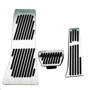 BMW X5 X6 시리즈 E70 E71 E72 F15 AT 용 액셀러레이터 브레이크 발 받침대 페달 패드, 자동차 용품 스타일링 가스 리필 스티커 스타일링