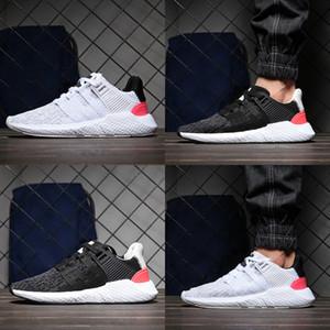 2018 93 17 EQT Hommes Chaussures de course soutien futur noir blanc manteau rose rouge des armes Turbo Femmes Sports de plein air Sneakers Eur 36-44