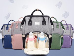2018 Fashion Mummy Maternity Diaper Bag Brand Large Capacity Baby Nappy Bag Travel Mommy Backpack Designer Stroller Nursing Bag