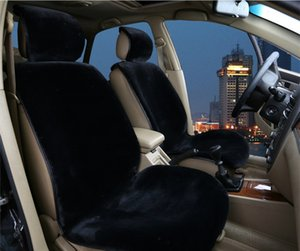 Lüks Araba Ön Koltuk Minderi Peluş Yün ABB Bez Kış Sıcak Koltuk Minderi 1 adet Araba Koltuğu Koruyucu