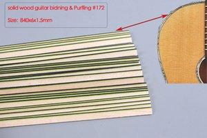 25pcs Guitar Strip Guitar Purfling Binding Guitar Parts Wood Inlay 840x6x1.5mm