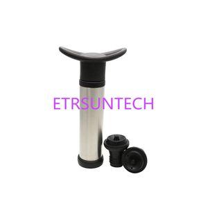 Pompa riutilizzabile del preservatore del sigillatore del risparmiatore di vuoto della bottiglia di vino con 2 fermi per gli strumenti della barra con la scatola al minuto QW7792