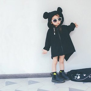 EnkeliBB Nouvelle Alibaba Mignon Enfants Manteau Automne Vêtements Pour Enfants Garçons Filles Style Européen Veste Animal De Mode Vêtements