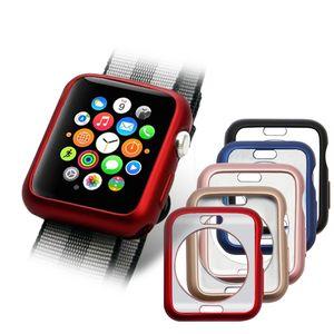 i Watch Apple Watch Series 4 소프트 TPU 스크린 프로텍터 케이스 커버 44mm / 40mm