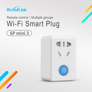 Original Broadlink SP Mini3 Smart Wifi Socket Беспроводной 4G Пульт дистанционного управления 10A 2500W Plug для Smart Home Automation Новый дизайн