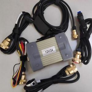 أداة تشخيص MB ستار C3 مع الكابلات كاملة مع معدد RS232 وOBD II 16 دبوس السيارات كابل للحصول على شحن مجاني DHL