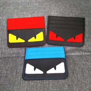 Mini Monster Eyes Women Wallets con el portatarjetas manera de las mujeres billetera y monedero pequeño corto de dibujos animados monederos Dollar Price