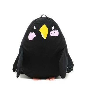 Japonês bonito bolsa de lona escola forma Mochilas animal asa Parrot para adolescente Kawaii Mochila Feminina Grande Viagem Mochila Q173