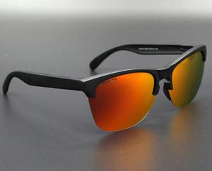 Outdoor Eyewear Frogskin 4 Farben Radsportbrille Polarisierte Sonnenbrille TR90 UV400 für Männer Frauen 009374