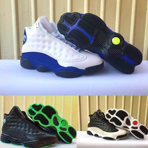 13 13s gato negro Hyper Royal Olive Wheat GS Bordeaux DMP Chicago hombres mujeres zapatos de baloncesto 13s zapatos deportivos Sneaker tamaño 41-47