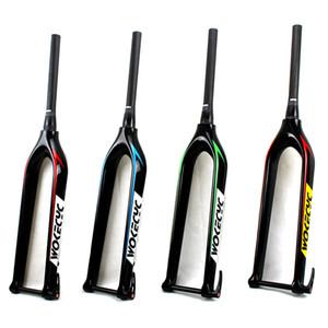 Fourche avant de vélo de montagne conique de carbone de la fourchette 29er du carbone MTB avec l'axe traversant 15x100mm