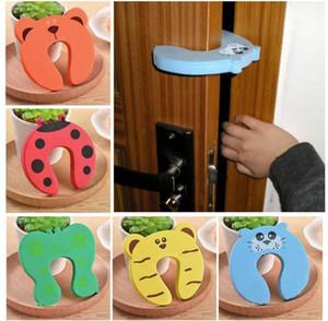 Praktische Witze Spielzeug Kinder Baby Cartoon Tier Stop Kante Ecke Kinder Türstopper Wachen Halter Schloss Sicherheit Finger