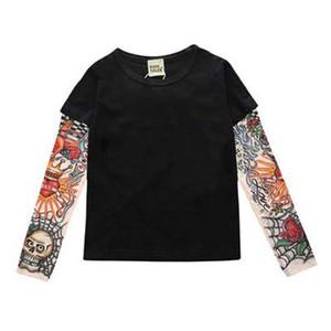Kinder Kleidung Jungen T-Shirt Kinder Tattoo T-Shirts große Mädchen Kleidung Sommer Kinder Tops Baby Tops Kind t