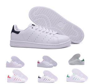 Adidas Stan Smith Superstar Printemps Cuivre Blanc Rose Noir Chaussure De Mode Homme sneakers Casual En Cuir marque femme hommes chaussures Appartements Baskets 36-44