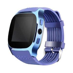 안드로이드에 대 한 새로운 T8 블루투스 스마트 보수계 시계 카메라 동기화 전화 메시지 남자 여성 Smartwatch 시계 무료 배송 함께 SIM TF 카드를 지원합니다