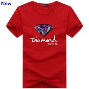 Moda t camisa de diamante homens mulheres Roupas 2018 Casual tshirt de manga curta dos homens Da Marca designer de Verão camisetas J02