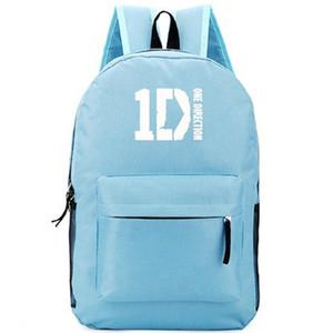 Sac à dos One Direction sac à dos 1D Sac de musique pour groupe de musique Sac à dos au design cool Sac à dos sport Sac de sport en plein air