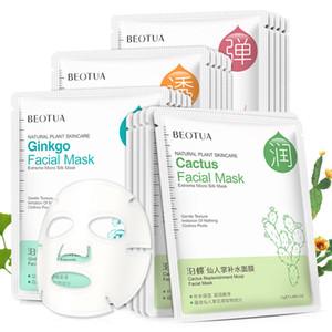 Beotua Dos Desenhos Animados Máscara Facial Profunda Nutria Brighten Hidratante Facial Mask Beauty Face Skin Cuidados Máscara