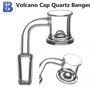 hot Quartz Banger Domeless nail Quartz banger 10mm 14mm 18mm Male Female Bucket for dab bong
