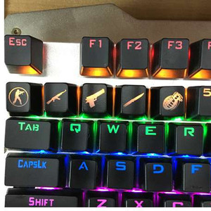 Siancs DIY CS Go Gaming Keycaps Mechanic Keyboard Кнопка CSGO Key Caps Game Keycap Игра Аксессуары Mercy ABS CAP