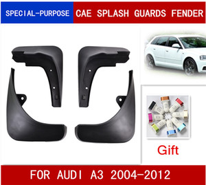 4pcs / Set de coches Guardabarros Guardabarros Guardabarros Guardabarros aleta del fango Para Audi A3 HATCHBACK 2004-2012