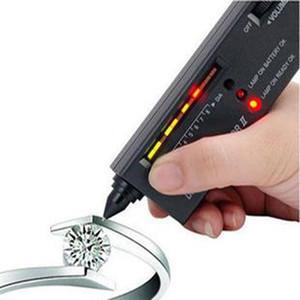 Herramientas de joyería fina Profesional Selector de diamantes II Joya Diamante Jade Piedras preciosas Probador LED / Ester indicador Lápiz Compañero de True Gem