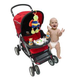 Baby Kids Soft Bed Pendurado Carrinho de Brinquedo Animal Bonito Abelha de Pelúcia Boneca com Não-tóxico Mordedor Chocalho Do Bebê Brinquedos Presente