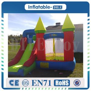 Konut sıçrama ev yaşam dolu kale açık havada faaliyetleri combo çocuklar için slayt şişme fedai eğlence parkı komik