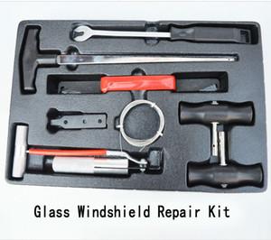 verre voiture kit de réparation de pare-brise Outils professionnels de bricolage verre auto-glace outils de réparation de la fenêtre set-détecteur de voiture