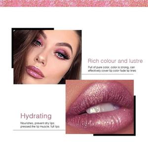 Newest Makeup Pudaier Lip gloss 18 Color Glitter Flip Classic vivid Lip Gloss Pearlite Matte to Glitter Liquid lipstick DHL shipping
