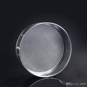 Petite forme farine boulon articles de cuisson en acier inoxydable farines de mailles tamis cuisine outil facile à transporter ronde 4 8am C R