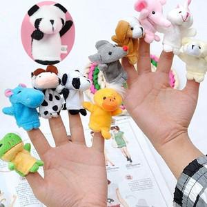 جديد إصبع الحيوانات البرية والحيوانات البرية نمط إصبع دمية طفل إصبع اليد لعبة قصة طفل يقول لعبة T6I008