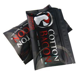 Nouvelle arrivée Wick N vape premier bacon coton vente chaude bricolage coton prime bacon en gros stock pour cigarette électronique