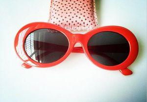 2018 Clout Goggles Sonnenbrillen Damen Herren Fashion Sonnenbrillen Damen Herren Herren Brillen UV400 Mirrored