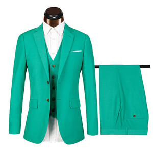 JinXuanYa Fashion Men Suit Atractiva fiesta Prom Tuxedo Mens Casual Style Trajes de trabajo diarios Wear Business mens suit (Jacket + Pant