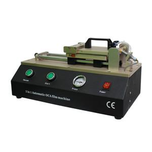 Vuoto macchina di laminazione 3 in 1 automatico OCA di laminazione della pellicola Built-in Vacuum Pump OCA Laminator Per iPhone a cristalli liquidi di riparazione dello schermo
