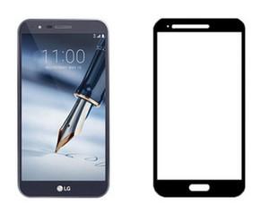 Full Cover gehärtetes Glas für LG Aristo 2 X210 V9 Displayschutzfolie für Iphone 8 gehärtetes Glas mit Papierpaket