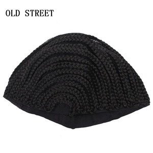 Черные люди регги парик Cap регулируемый крючком плетеный плетение Cap кружева сеточку для синтетических волос расширения учебник 1 шт. продажа