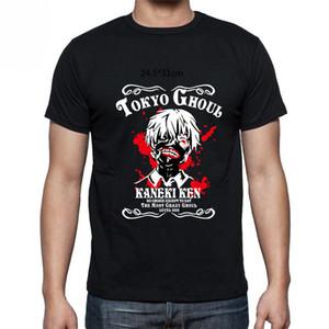Оптовая скидка Tokyo Ghoul Аниме японская манга Кен Канэки с коротким рукавом мужская футболка