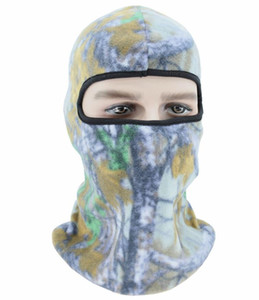 camouflage thermal warm full face mask motorcycle bicycle outdoor sports hats winter balaclava ski mask hood cycling riding cap beani