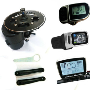 새로운 버전 Torque Sensor 36V 250W / 350W / 500W 42T 체인 휠 전기 자전거 TSDZ2 Mid Central Motor Conversion ebike Kit