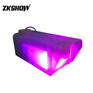 80% Discount 400W Mini LED Fog Machine 2*3W RGB Transparent Beautiful DMX DJ Disco Party Wedding Stage Lighting Effect Fixture Free Shipping